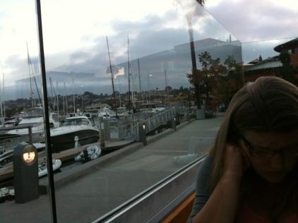 Anniversary dinner on the harbor