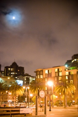 Behind the Ferry Building