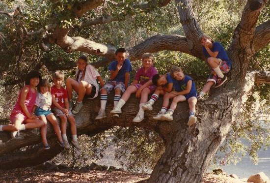 Camping at Pio Pico - 1988