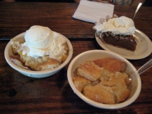 Dessert at the Salt Lick