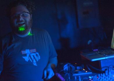 DJ'ing the WordPress party