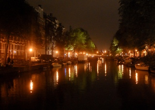 Evening canal view