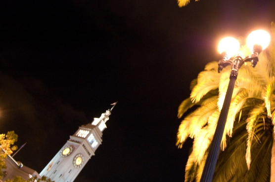 Ferry Building & palm tree