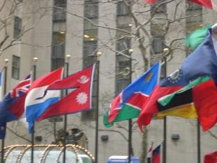 Flags, Rockefeller Center