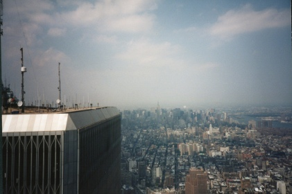From the top of the WTC-1