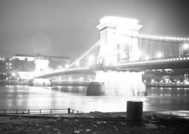 Glowing nightbridge