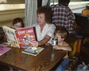 Grandma Reading