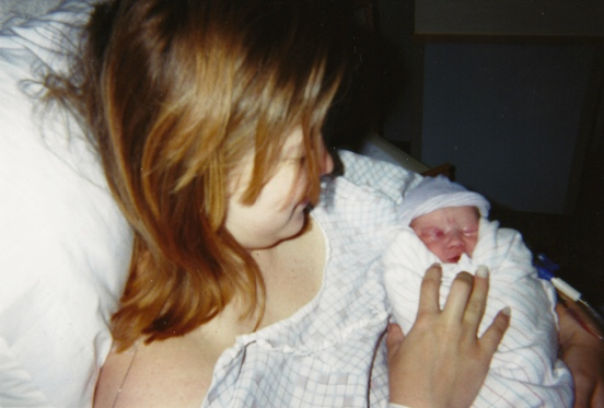 Ian at birth