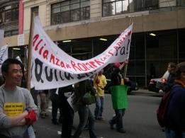 Labor Protest, NYC