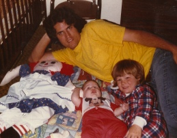 Me, Jon and Dad - 1983