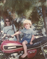 Me on a Motorcycle ~ 1983