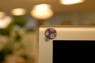 Monitor Sticker