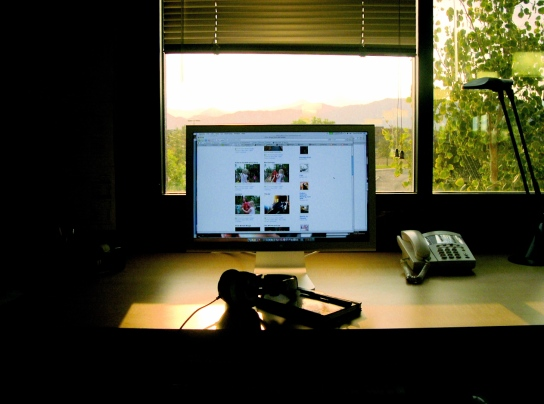 My workspace, Fall 2006-1