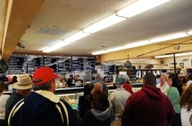 Ordering at the Point Loma Fish Market