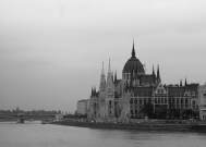 Parliament house on the Danube