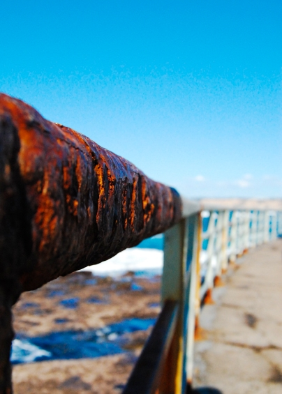 Rust on a rail