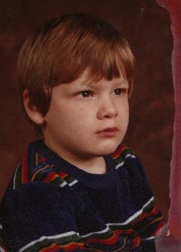 School Picture ~ 1985