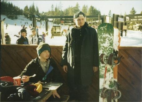 Snowboarding, Sophomore Year