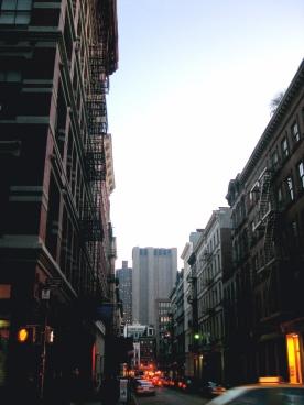 Soho view to downtown