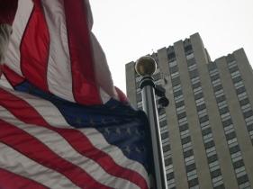 US Flag, Rockefeller Center