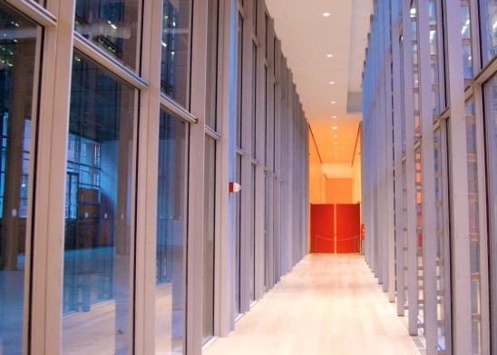 Walkway to Times Center